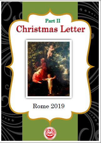 CHRISTMAS LETTER II - Institute of Charity - Rosminian Fathers